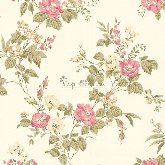 Обои Spell Bound 50-440 бренда Graham & Brown с розовыми цветами.