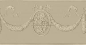 Обойный фриз Lincrusta RD1948