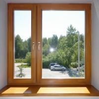 Деревянные окна: фото