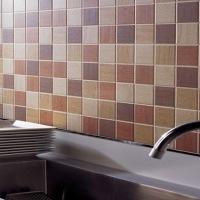 Мелкая плитка для кухни: фото