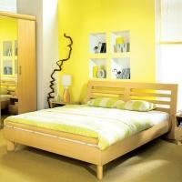 Оформление комфортной спальни: фото