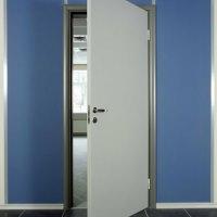 Белые межкомнатные двери для офиса: фото