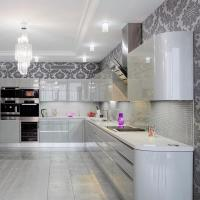 Изысканная кухня в стиле модерн: фото