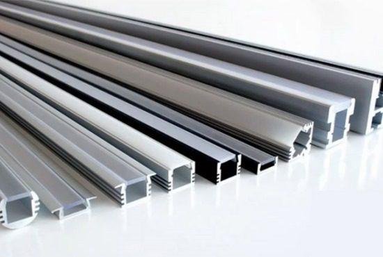 Алюминиевый профиль: фото