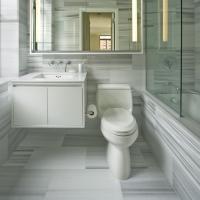 Оформление ванной комнаты и санузла: фото