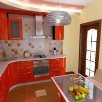 Отделка кухни: фото