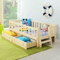 Детская кровать с бортиками: фото