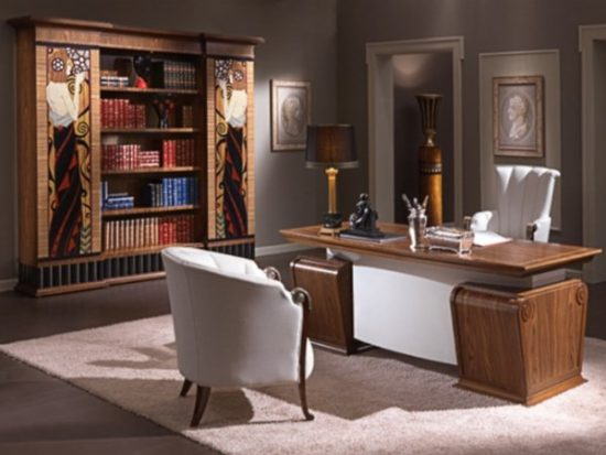 Как расставить мебель в кабинете: фото