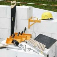 Строительство дома из газобетона: фото