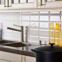 Кухонная плитка: фото