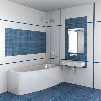 Отделка ванной комнаты плиткой: фото