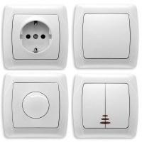 Розетки и выключатели: фото