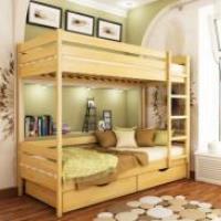 Двухъярусная кровать: фото