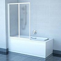 Пластиковые шторки для ванной: фото