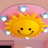 Светильник для детской комнаты: фото