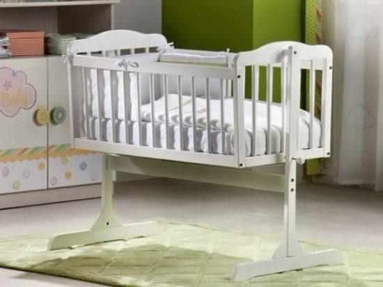 Детская кровать-люлька: фото
