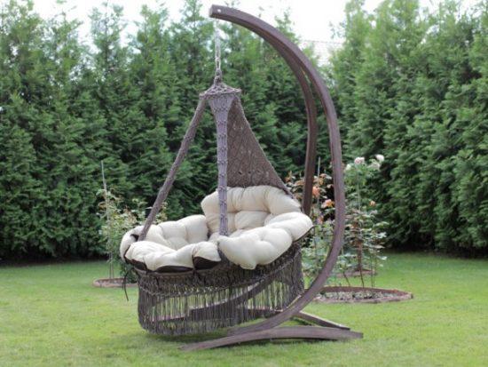 Подвесное кресло-гамак: фото