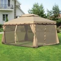Садовые тенты и шатры: фото