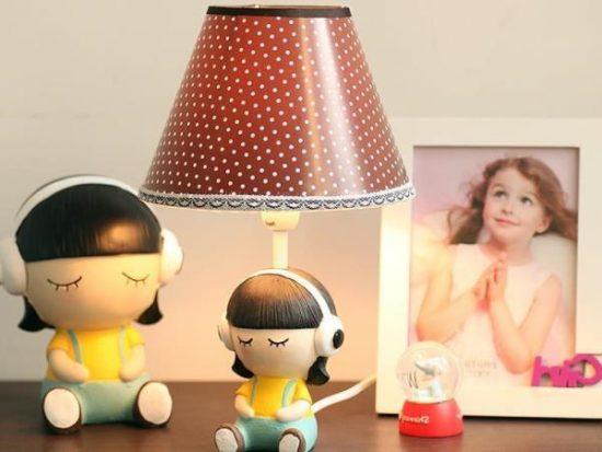 Настольные лампы: фото