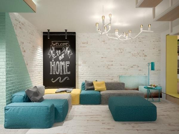 Дизайн гостиной - 2